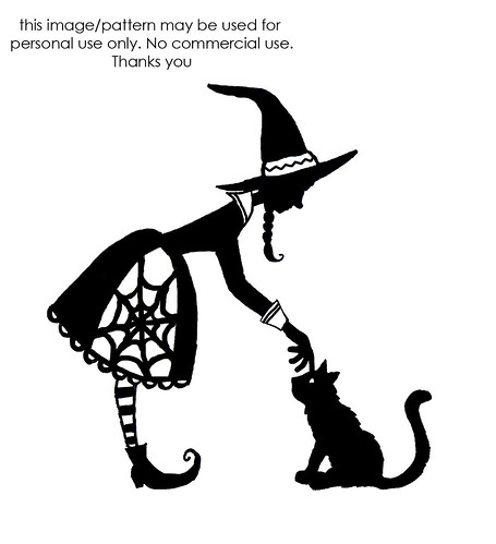 free witch pattern