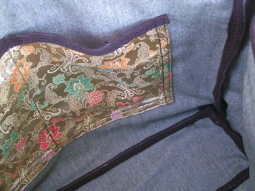 lining and inside bag