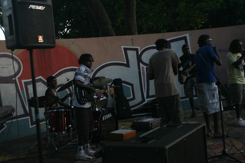 Band at Mindil