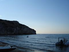 tramonto baia manaccore(peschici) (leyra.1986) Tags: mare peschici lifebeautiful yourcountry villaggiojulia