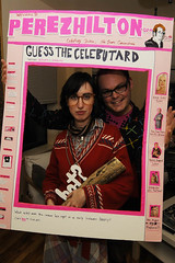 The Log Lady  (Lauren) and Me! (Accidents Will Happen) Tags: halloween costume 2008 october31 perezhilton perezhiltoncom