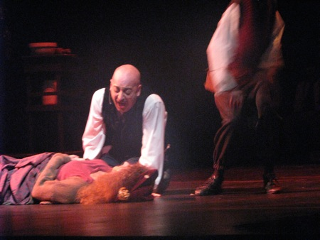 Jason Dittmer as Sweeney Todd