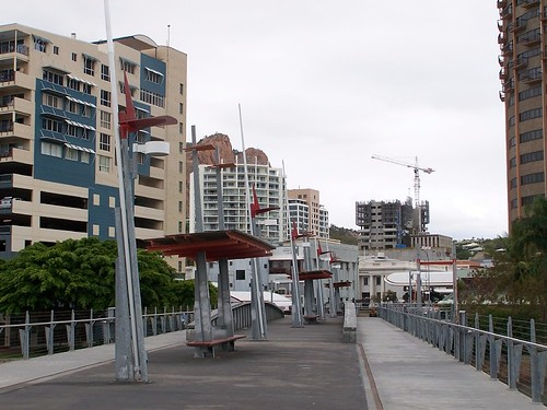 Townsville skyline from Victoria Bridge