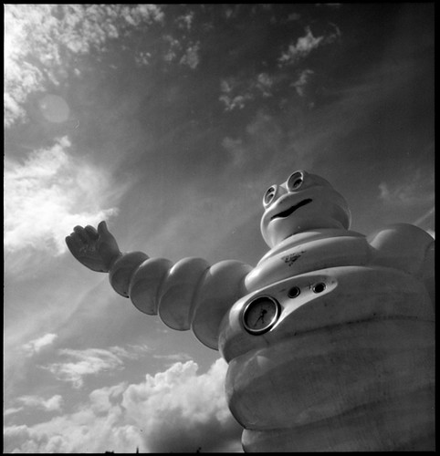 Popgom popgom popgom: picture michelin • freeway, france • 2008 by lem's