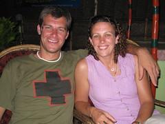Bill and Lindsey - Varkala, Kerela