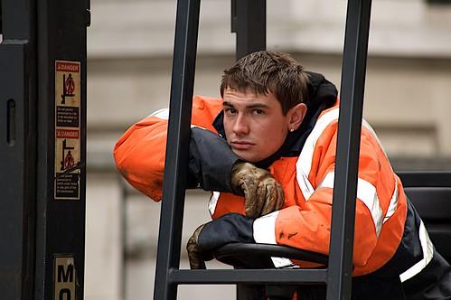フリー画像| 人物写真| 男性ポートレイト| 外国人男性| イケメン| 消防士|      フリー素材|