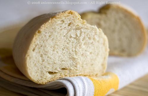 Pane toscano con pasta madre