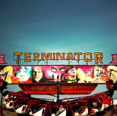 Terminator. (DJ Bass) Tags: fairgrounds seaside sinister rides terminator margate theterminator djbass danbass sinisterseaside marg2009ltint