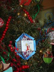 Papercraft Christmas Ornament (RetroJason) Tags: christmas angel christmastree ornaments santaclaus christmasornament kriskringle papercraft paperornaments