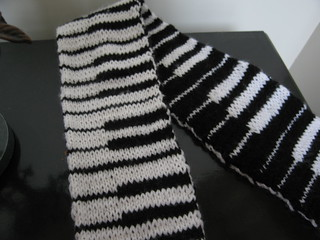 Ravelry: Dancing on Keys (AKA the Piano Scarf) pattern by ...