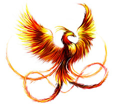 Pheonix Tattoo (Ryan McCurdy) Tags: red orange bird art tattoo ink body pheonix mythical