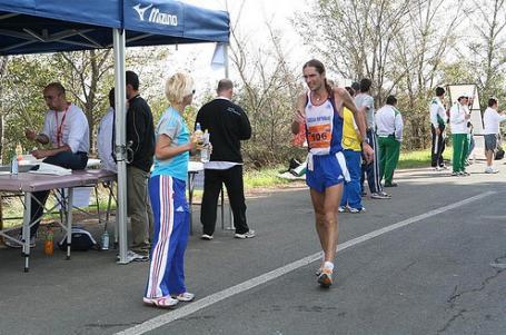 MS a ME na 100 km 2008 Tarquinia - po výstřelu