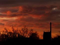 Sunrise (Kirsten M Lentoft) Tags: sky church clouds sunrise denmark silhouettes glostrup abigfave diamondclassphotographer theperfectphotographer vosplusbellesphotos kirstenmlentoft novusvitanewlife