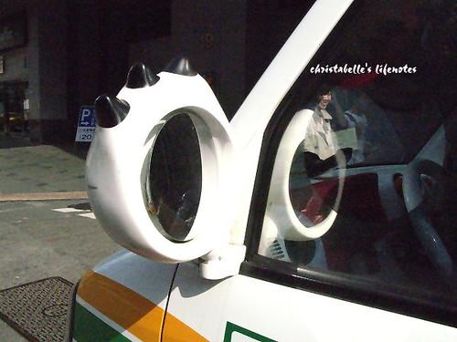open小將條碼貓車後照鏡