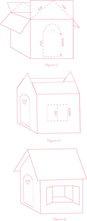giant cardboard gingerbread house template  Create a Life Size Gingerbread House | Alpha Mom