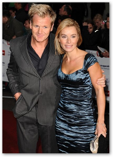Gordon Ramsay with Wife Tana