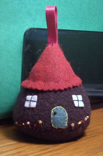 Little House ornament