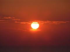 Soncni zahod v Piranu / Sunset in Piran (eszsara) Tags: sea view slovenia piran slovenija naplemente tenger adria susnet townwall morje soncnizahod szlovnia razgled kilts the4elements vrosfal obzidje