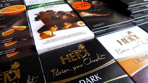 dark chocolate chocolate coconut mint yummy heidi anidor lindl