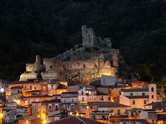 Evening in my town (zio.paperino) Tags: italy castle nature night geotagged lumix lights europe italia natura explore frontpage castello calabria catanzaro lamezia fz50 blueribbonwinner nicastro abigfave aplusphoto ziopaperino mygearandme mygearandmepremium mygearandmesilver mygearandmegold
