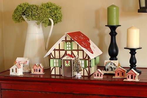 Martha Stewart Advent Calendar Cottage