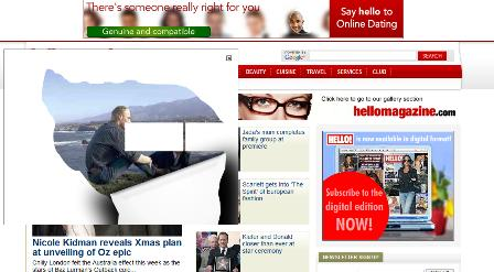 Hello - overlay ads