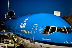 KLM Airplane by Justin Korn