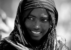 Afar girl with sharpened teeth, Asaita, Danakil, Ethiopia (Eric Lafforgue) Tags: girl smile tooth african teeth ethiopia filing tribo headdress headwear headgear afar nomade eastafrica thiopien etiopia ethiopie etiopa coiffe 0913 tribalgirl lafforgue  danakil etiopija ethiopi  etiopien etipia  etiyopya       nomadiclifeafricavienomade