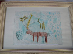 Reindeer in a snowflurry (*hoppetosse*) Tags: christmas snow reindeer