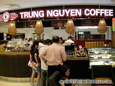 Trung Nguyen Coffee @ Liang Court - Alvinology