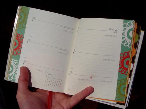 Kikki K. 2009 planner - pages