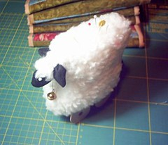 sheep pincushion