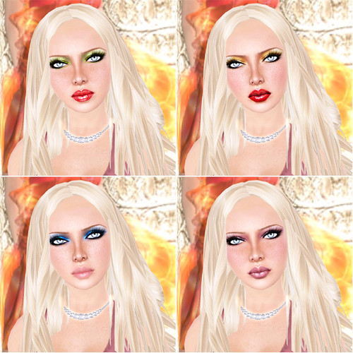 """Gala - """"Winter"""" makeups by you."""