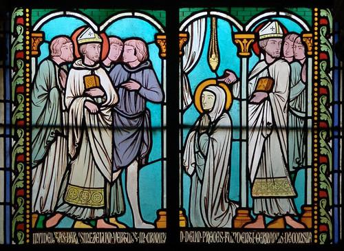 005- Vitral nº5 claustro de Notre Dame de Paris