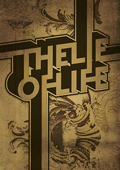 Typowall  The Lie Of Life (Vector Hugo) Tags: old urban signs black art wall vintage po