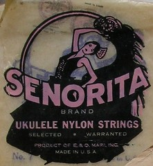 ukulele strings packaging