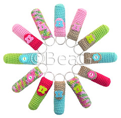 Keychain Lip Balm Holders (Lipcrmehouders) (Made by BeaG) Tags: pink blue original flower cute green butterfly creativity design cozy beige keychain keyring aqua pretty artist belgium designer handmade buttons unique oneofakind ooak kunst crochet tan belgi creation button lip balm holder unica unicum chapstick innovative beag gehaakt sleutelhanger innovatief kunstenares innovantes uniquedesign ontwerpster chapstickholder originaldesigner creativedesigner lipbalmholder crochetedkeychain handmadekeychain inovadores chapstickcozy sizea keychaincrochet lipbalmcozy crochetkeychain lipcrmehouder keychainlipbalmholder keychainlipbalmholders lipbalmholders chapstickholders designedandmadebybeag uniekontwerp ontworpenengemaaktdoorbeag gehaaktesleutelhanger crochetkeychains