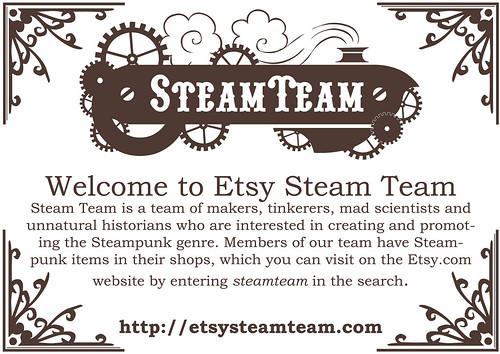 Steam Team Flyer