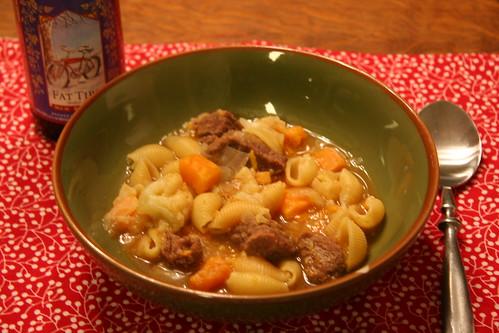 stew, step three.... eat it!