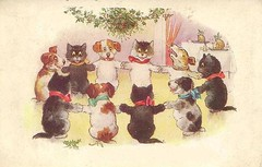 Cats and Dogs Happy New Years Ring Dance (hagerstenguy) Tags: new eve winter party cats dogs fun happy dance year ring years feliz wonderland bonne ao jahr nuevo r anno neues nytt buon anne gott frohes uusi  vuosi