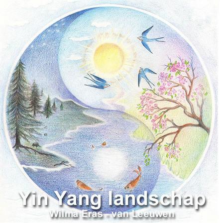 Yin Yang landschap