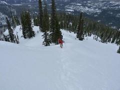 Fairly steep little hill!