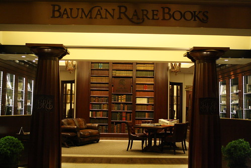 Bauman Rare Books - haven in a land of chaos