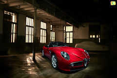 Alfa Romeo 8C Spider (Bandal) Tags: auto hot cars beautiful beauty car design spider cool italian automobile awesome automotive racing exotic alfa romeo alfaromeo luxury supercar v8 sporty sportscar sportivo 8c coure competizione bandal xavigalvez