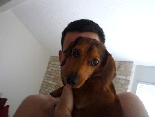 Baxter is sad.