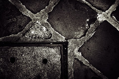 sMILinG fAcE_ (27147) Tags: stain canon eos daylight floor walk cement 50 1ds ef pat