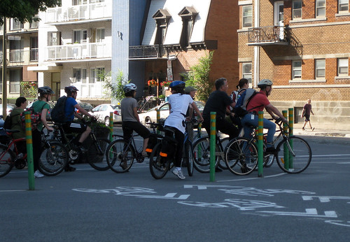 pack of cyclists
