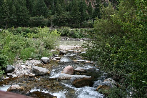 Brush Creek, along I-70 going toward Aspen.  Nicest rest stop we ever did see!