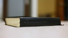 Test Shot with My ESV Journaling Bible..