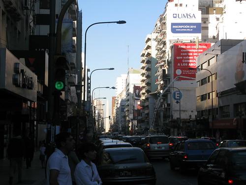 Avenida Corrientes y Callao